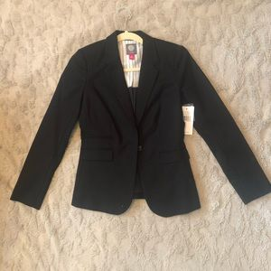 Vince Camuto Black Fitted Blazer